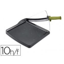 Cizalla rexel plastico cl100 de palanca capacidad de corte 10 hojas din a4