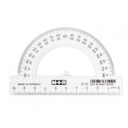 Semicirculo m+r 10 cm plastico transparente