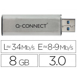 Memoria usb qconnect flash 8 gb 30