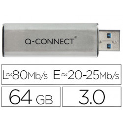 Memoria usb qconnect flash 64 gb 30