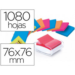 Soporte bloc de notas adhesivas quita y pon postit super sticky z notes co