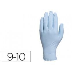Guante deltaplus de nitrilo desechable especial para trabajos de corta dura