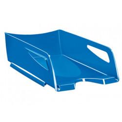 Bandeja sobremesa cep maxi de gran capacidad plastico azul 386x270x115 mm