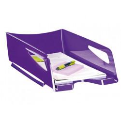 Bandeja sobremesa cep maxi de gran capacidad plastico violeta 386x270x115 m