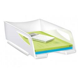 Bandeja sobremesa cep maxi de gran capacidad plastico blanca 386x270x115 mm
