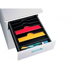Bandeja organizadora fastpaperflow de cajones 90x327x457 mm