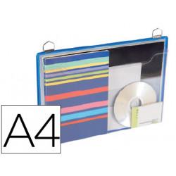Funda para colgar tarifold din a4 anilla metalica formato horizontal pack d