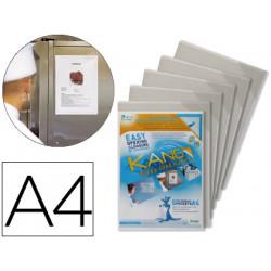Funda de presentacion tarifold magnetica rigida y anti reflejo din a4 pack