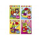 Cuaderno para colorear pinta color para niños de 34 años 16 paginas 280x21
