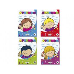 Cuaderno para colorear y actividades solito aprendo para niños de 3a 5 años