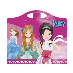 Cuaderno de actividades nancy maletita diseño princesas 64 paginas 330x300