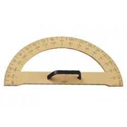 Semicirculo para encerado faibo de plastico imitacion madera 34 cm