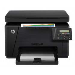 Equipo multifuncion hp laserjet mfp m176n 16pmm negro 4pmm color copiadora