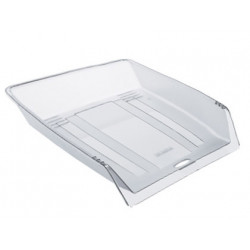 Bandeja sobremesa plastico offisys 1025 flexible transparente 345x265x65 mm