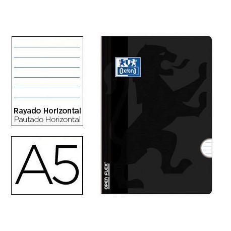 Libreta escolar oxford openflex tapa flexible optik paper 48 hojas din a5 r