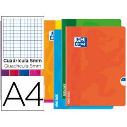 Libreta escolar oxford openflex tapa flexible optik paper 48 hojas din a4 c
