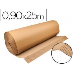 Carton ondulado qconnect 090x25 m 250 g/m2 kraft