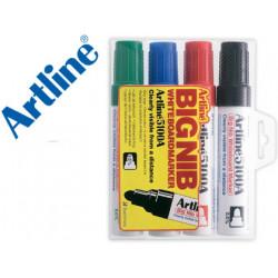Rotulador artline pizarra ek5100 colores surtidos punta redonda 5 mm peta