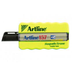 Borrador artline pizarra blanca magnetico con rotuladorek157 negro