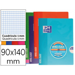 Libreta escolar oxford tapa flexible optik paper openflex 48 hojas 90 gr 90