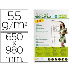 Bloc congreso bioffice papel reciclado 55 grs 650x980 mm