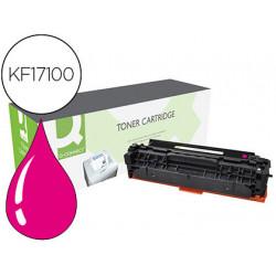 Toner qconnect compatible cf383a laserjet mfp m476 magenta 2700 pag