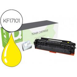 Toner qconnect compatible cf382a laserjet mfp m476 amarillo 2700 pag