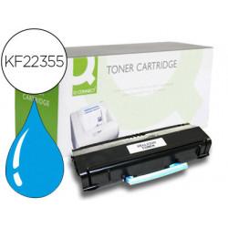 Toner compatible qconnect samsung clp360/365 clx3300/3305 cyan 1500 pag