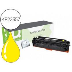 Toner compatible qconnect samsung clp360/365 clx3300/3305 amarillo 1500 p