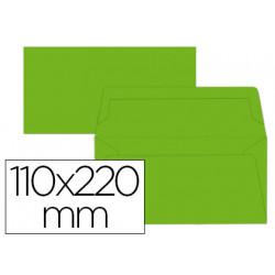 Sobre liderpapel americano lima 110x220 mm 80 g/m pack de 9 unidades