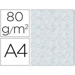 Papel color liderpapel a4 80g/m azul pergamino pack de 15 unidades