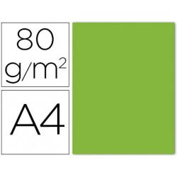 Papel color liderpapel a4 80g/m lima pack de 15 unidades
