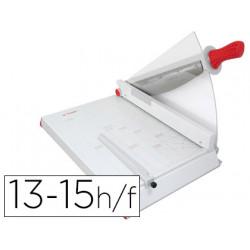 Cizalla yosan 45 metalica de palanca din a3 con pantalla protectora