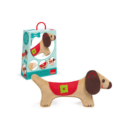 Juego goula didactico mascota perro milo