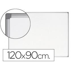 Pizarra blanca bioffice earthit magnetica de acero vitrificado marco de a