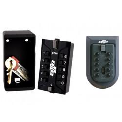 Caja seguridad olle 1020 custodia de llaves 2 mm de espesor combinacion mec