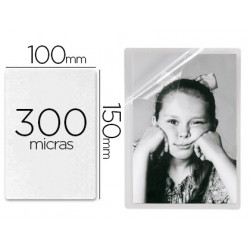 Bolsa de plastificar 3l office manual en frio 10x15 cm 300 micras con iman