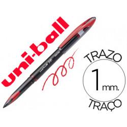 Boligrafo uniball roller air ub188l 1 mm tinta liquida rojo