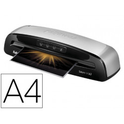 Plastificadora fellowes saturn 3i din a4 2 rodillos sistema antiatasco hast