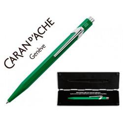 Boligrafo caran dache 849 con estuche verde punta media