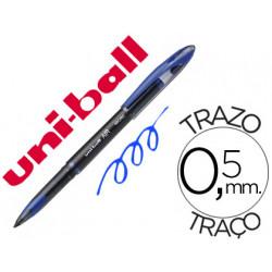 Boligrafo uniball roller air uba188m 05 mm tinta liquida azul