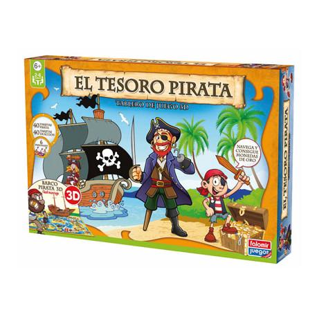 Juego de mesa falomir el tesoro pirata