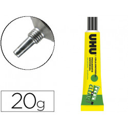 Pegamento uhu universal flex+clean sin disolvente 20 gr unidad