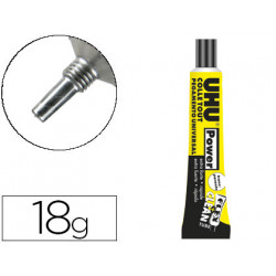 Pegamento uhu universal flex+clean extra fuerte 18 gr unidad