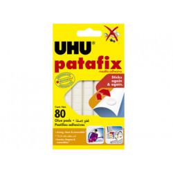 Sujetacosa uhu patafix blister de 80 unidades