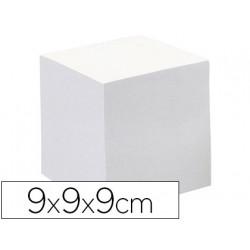 Taco papel quo vadis encolado blanco 680 hojas 100% reciclado 90 g/m2 90x90