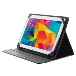 Funda trust primo folio universal para tablets 10 con soporte y cierre ela