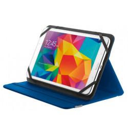 Funda trust primo folio universal para tablets 78 con soporte y cierre el