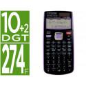 Calculadora citizen cientifica sr270x college 274 funciones 10+2 digitos 1