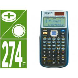 Calculadora citizen cientifica sr270x college 274 funciones negra